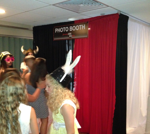 Party rental South Florida photo booth